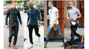 david beckham u0027s style casual look book youtube