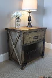 Free Diy Woodworking Project Plans by Best 25 Nightstand Plans Ideas On Pinterest Diy Nightstand