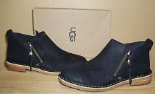 womens black ankle ugg boots ugg australia zip ankle boots for ebay