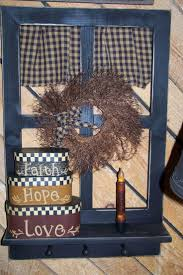 Country Primitive Home Decor Best 25 Primitive Country Crafts Ideas On Pinterest Country
