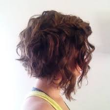 Angled Curly Bob Haircut Pictures | angled curly bob hairstyle for women man