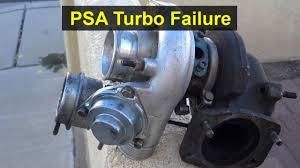 turbo failure on a 2013 kia optima sx psa youtube
