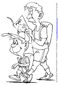 summer vacation printable coloring pages for kids 1 free