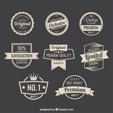 imagenes fotos retro retro promotion badges vector free download