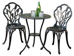 Folding Bistro Table And 2 Chairs Patio Cafe Style Table And Chairs Folding Bistro Set Iron Bistro