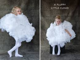 Fluffy Halloween Costumes Fluffy White Cloud Costume