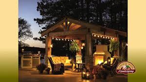 hinsdale outdoor cabana hinsdale outdoor pergola designs youtube