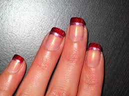 red tip nail designs image collections nail art designs