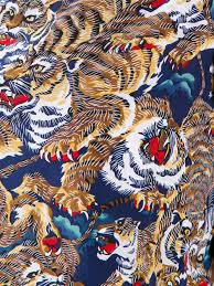 Cube Mural Fly by Kenzo Flying Tiger Print Pattern Pinterest Tiger Print