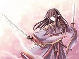 anime wallpapers girls sword fighting samurai wild fight old japan bushido katana painting by anime