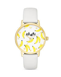 Kate Spade Vases Kate Spade New York Metro That U0027s Bananas Leather Strap Watch 34mm