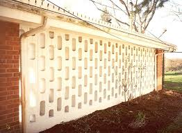 decorative block wall designs apply concrete adhesive breeze block
