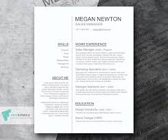 resume template on word plain and simple a basic resume template giveaway freesumes