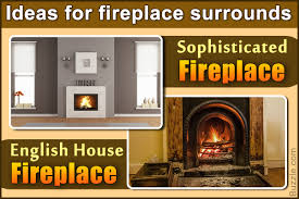functional fireplace surround plans to complement your home decor