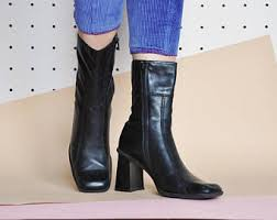 leather boots uk only leather boots etsy