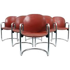 Metal And Leather Dining Chairs 109 Best Leather Dining Chairs Images On Pinterest Leather
