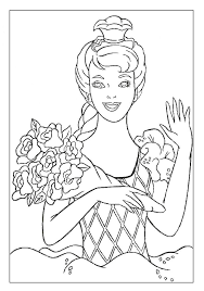 barbie coloring book pages kids coloring