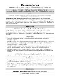retail resume exles bankteller bank teller resume sle retail branch