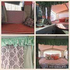 Replacement Pop Up Camper Curtains The Southern Glamper Pop Up Camper Reveal Ready To Camp