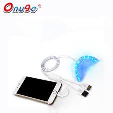 teeth whitening kit with led light onuge teeth whitening kit with led light 3 line 1usb android iphone