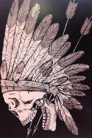 native american tribal skull tattoos indian skull tattoo tattoo
