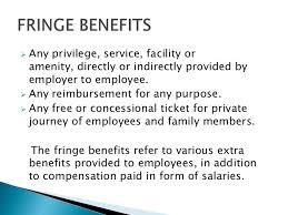 employee benefits hr ppt
