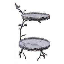 two tier cake stand adbarrow court two tier cake stand black country metal works