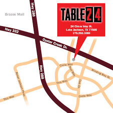 table 24 lake jackson find us