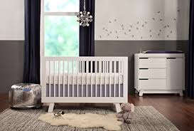 Convertible Crib With Toddler Rail Babyletto Hudson 3 In 1 Convertible Crib With Toddler Rail White