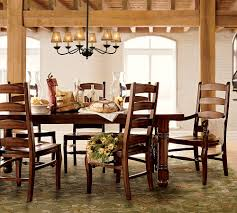 furniture comfortable interior furniture design with cozy dark wood dining table by ballards furniture with cozy karastan carpet and chandelier plus ceiling beams