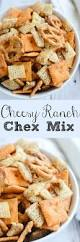 easy ranch snack mix health goldfish and cheddar