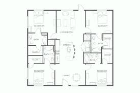 house plans with 4 bedrooms floor plans 4 bedroom 4 bed house plans model inspirational