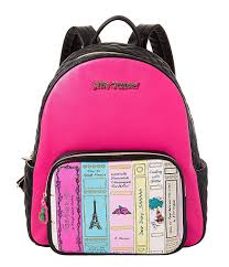 betsey johnson library backpack lyst