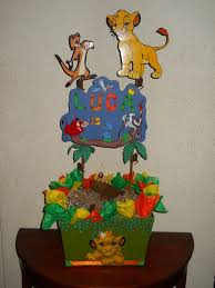 Centerpieces For Birthday by Customized Lion King Centerpiece For Birthday By Chavezalberto