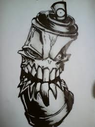 demonic graffiti spray by drc the guru on deviantart