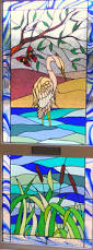 Stained Glass Door Panels by Stained Glass And Leaded Lights In Swansea South Wales