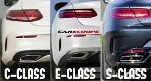 mercedes c class vs s class the ties that bind 2017 mercedes e class vs c class vs s class coupes