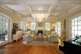 coffered ceiling paint ideas ceiling white coffered ceilings with lights combained with white