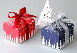 christmas boxes aliexpress buy christmas and new year tree house mini candy