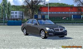 E63 Amg Interior Mercedes E63 Amg Interior For Ets 2 Download Game Mods Ets 2