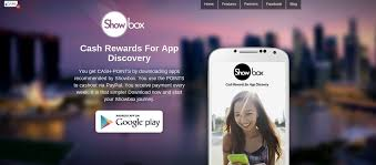 showbox lets you earn real rewards by trying out apps review