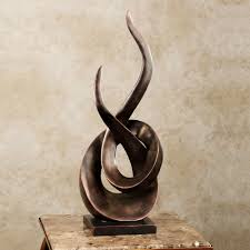 Home Sculptures Entwined Contemporary Abstract Table Sculpture