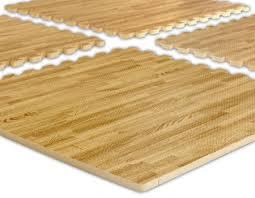 wood grain foam aerobic exercise flooring