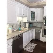 Kitchen Backsplash Peel And Stick Peel And Stick Tiles Metro Carrera Smart Tiles