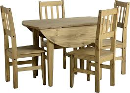 Pine Drop Leaf Table Brilliant Decoration Dining Table Set With Leaf Ingenious Idea