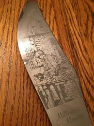 found a cool knife from italy in my grandparents house album on
