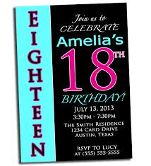 invitation for 18th birthday party futureclim info