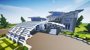 contemporary modern house contemporary modern house minecraft maps