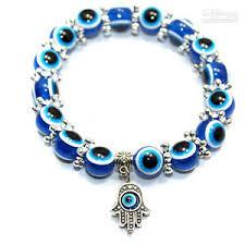 evil eye bead bracelet images Evil eye hamsa beaded bracelet with hand of fatima charm ebay jpg