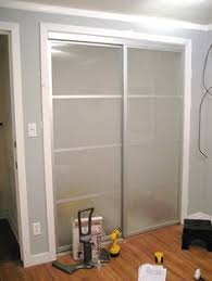 Frosted Closet Sliding Doors The Sukiya Sliding Doors In This Picture Are Providing A Cupboard
